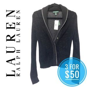 NWT Ralph Lauren Knit Cardigan
